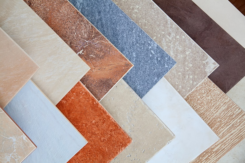 Classification of tiles