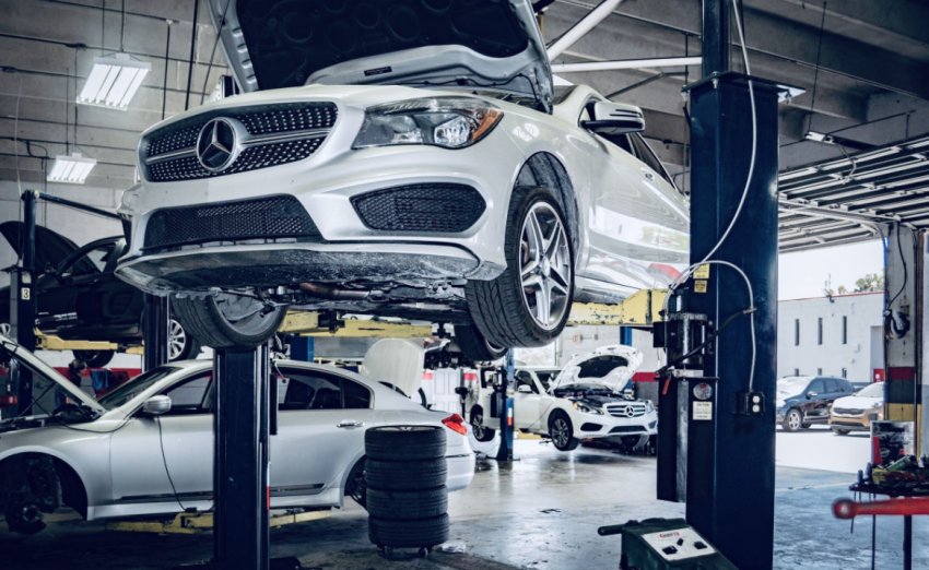 Luxury car maintenance services